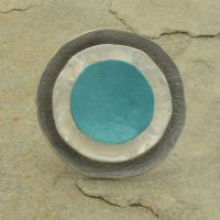 Miss Milly  Teal Disc Ring